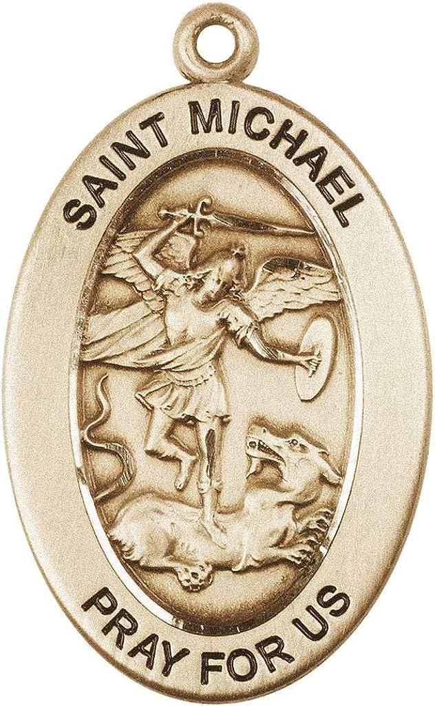 Air Force Medal Michael 14kt Gold St Patron Saint of Police Officers//EMTs