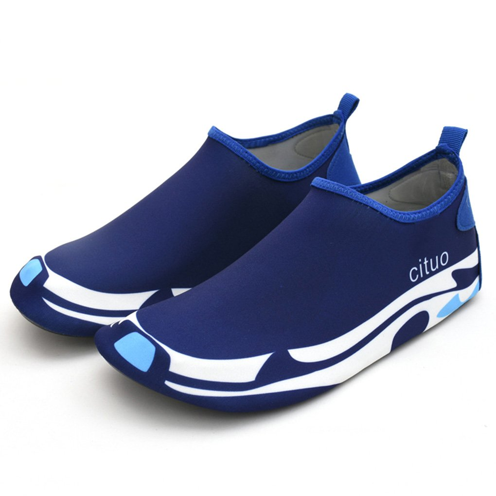 Krastal Outdoor Aqua Shoes Summer Footwear Barefoot Skin Sneaker Swim Beach Water Shoes B07DD5X43C 7.5 D(M) US|Blue