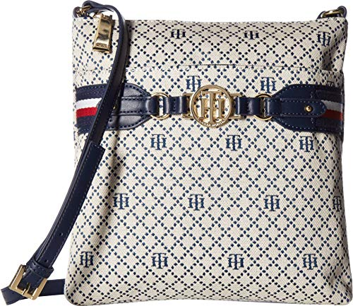 's Brice Large North/South Crossbody Navy/Natural One Size ()