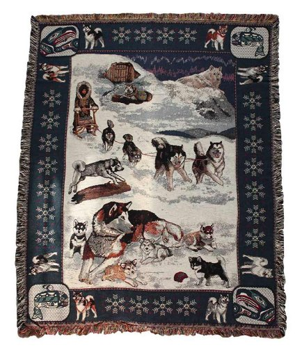 Gone Doggin Alaskan Malamute Blanket Throw #1 - Exclusive Dog Breed Tapestry