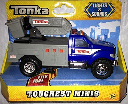 Tonka Toughest Minis Lights and Sounds Cherry Picker by Tonka