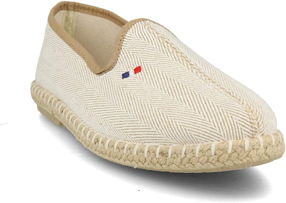 PAYMA - Alpargatas de Esparto en Espiga para Hombre. Zapatillas de Verano. Brasileras para Hombre. Espardeñas Espadrilles con Bandera. Azul Rojo Beige Crudo Kaki Nogal: Amazon.es: Zapatos y complementos
