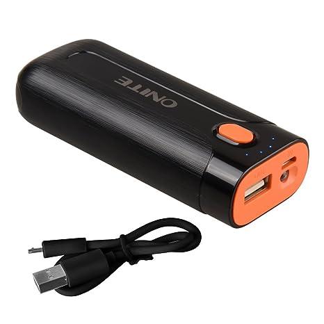 Onite 5600mah Cargador universal USB powerbank Batería externa para smartphone Samsung Galaxy iPad iPhone
