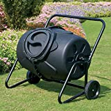 KoolScapes Wheeled Tumbling Composter, 50-Gallon