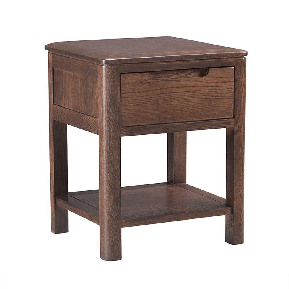 Amazon.com: Wang Chun - Mesita de noche de madera maciza ...