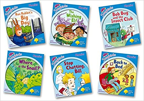 Oxford Reading Tree: Level 3: More Songbirds Phonics: Pack 6 books ...