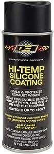 Design Engineering 010301 High-Temperature Silicone Coating Spray - Black