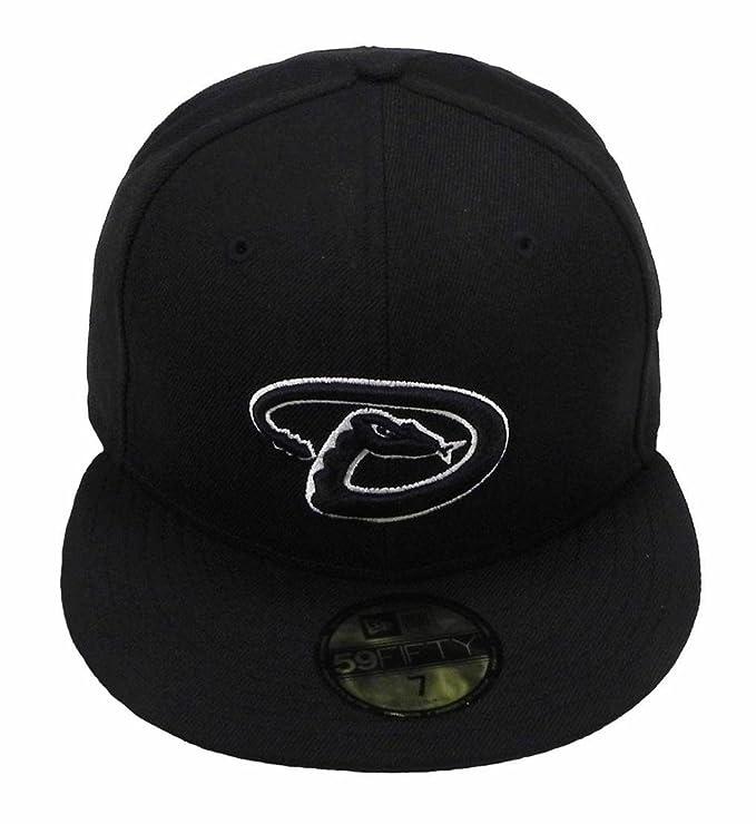 hot sales 04db6 15147 Amazon.com   New Era 59fifty Arizona Diamondbacks MLB Cap Men s Fitted Hat    Sports   Outdoors