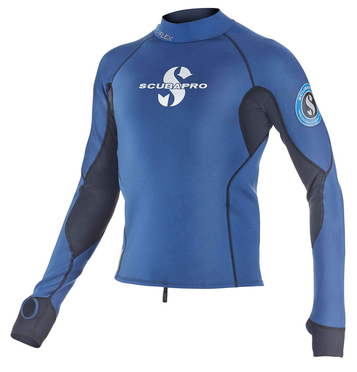 Scubapro Everflex 1.5mm Mens Long Sleeve Rash Guard Aegean, Size 3XL