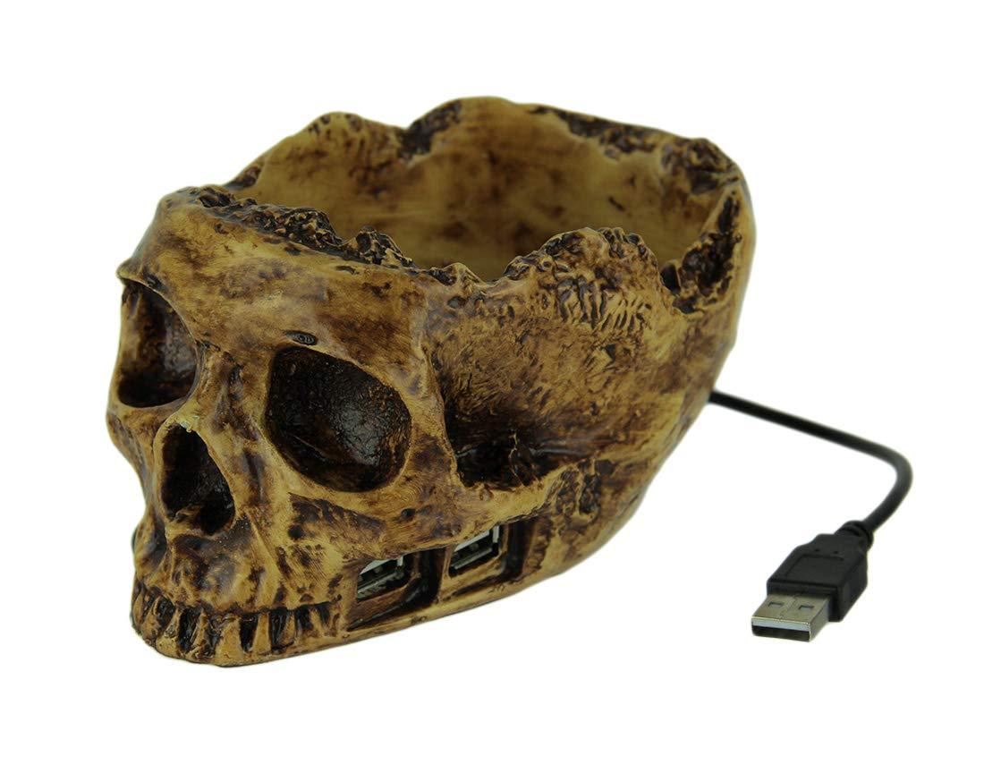 Skull USB Hub [Electronics] CloseoutZone Tech Tools LM-5100