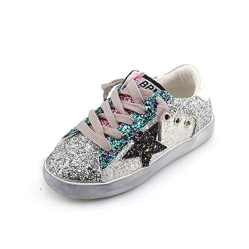 e3fbd33e1ec Zapatillas para niños con Purpurina Zapatillas para niña Zapatillas para  niños Zapatillas Deportivas para niños: Amazon.es: Zapatos y complementos