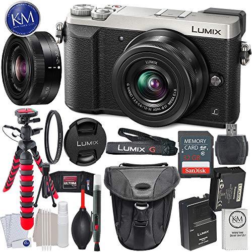 Panasonic Lumix DMC-GX85 Mirrorless Digital Camera w/ 12-32mm Lens (Silver) + 32GB Memory + Basic Photo Accessory Bundle Review