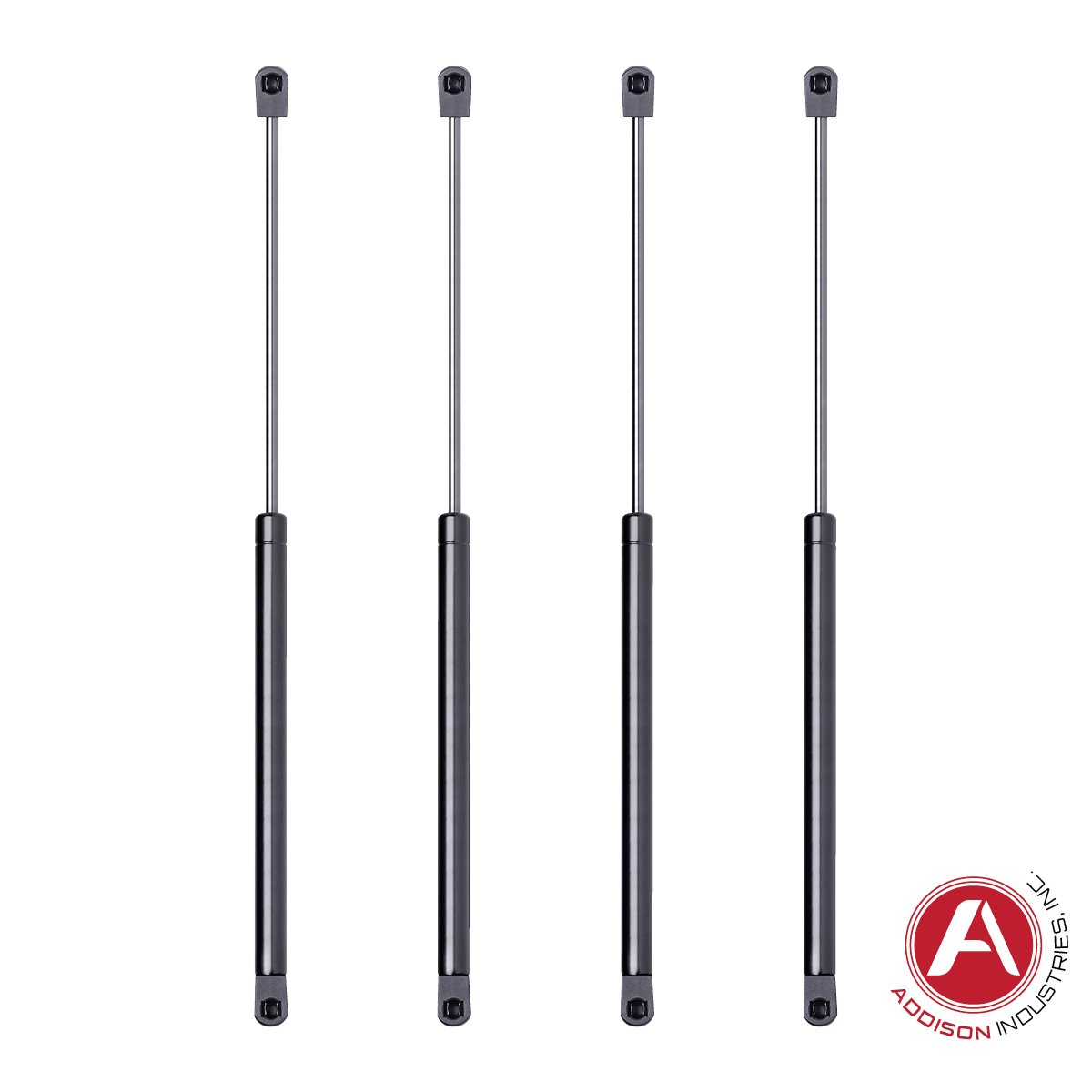 Addison Top Quality 20 Inch Gas Spring, 100 LBS (445 Newton) Force Each, Set of 4, Gas Strut Gas Prop Gas Lift Support Lift Strut, Featuring Heavy Duty Extra Wide Diameter Tube 18 mm/Rod 8 mm