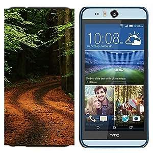 EJOOY---Cubierta de la caja de protección para la piel dura ** HTC Desire Eye M910x ** --Naturaleza de la fantasía Galaxia
