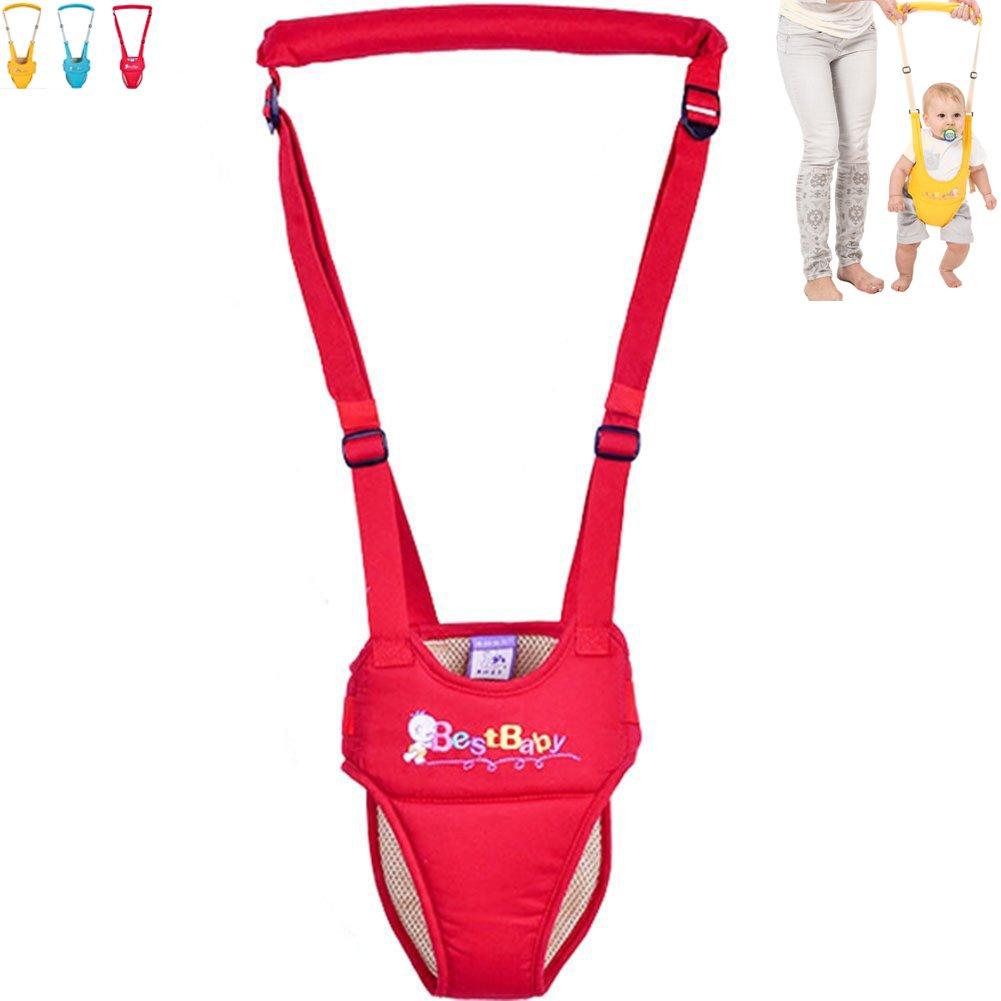 OLizee Breathable Handheld Baby Child Harnesses Learning Assistant Walker Toddler Walking Helper Kid Safe Walking Protective Belt XBD1-1
