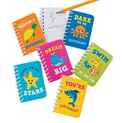Fun Express Under The Sea Notepads - 24 Pieces - Educational and Learning Activities for Kids: Toys & Games