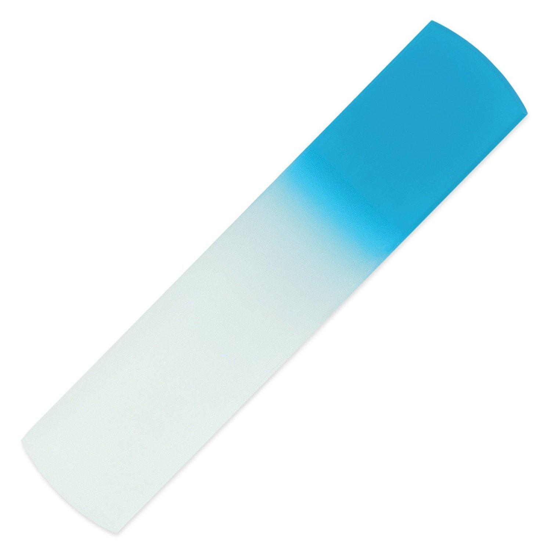 Von Hand gefertigte Glas-Hornhautraspel | Glas-Fußfeile, echtes gehärtetes Glas aus Tschechien, lebenslange Garantie | Entfernt harte Haut, abgestorbene Haut und raue Haut Mont Bleu