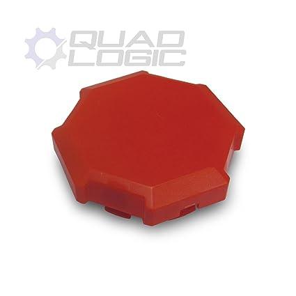 Amazon.com: Polaris RZR 900 1000 Turbo (2014-18) RED Wheel Hub Cap Cover 1522216-655: Automotive