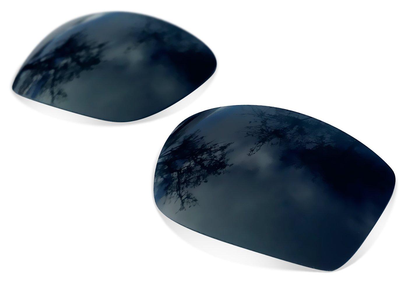 Sunglasses Restorer Lentes Polarizadas de Recambio Black Iridium para Oakley Eyepatch 2