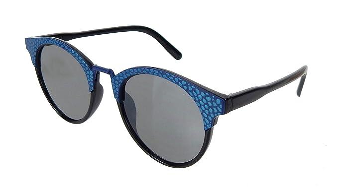 Sonnenbrille Cat Eyes silber schwarz blau transparent by Ella Jonte UV 400 new cKoWxoi