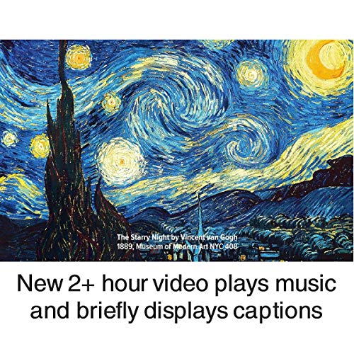 BillionDollarArtGallery Transform Your TV Into Wall Art | Display 500 of The World's Most Iconic Paintings | Unique Gift | Home Décor | Decorate Every Room | Living Room Decor | Bedroom | Home Office