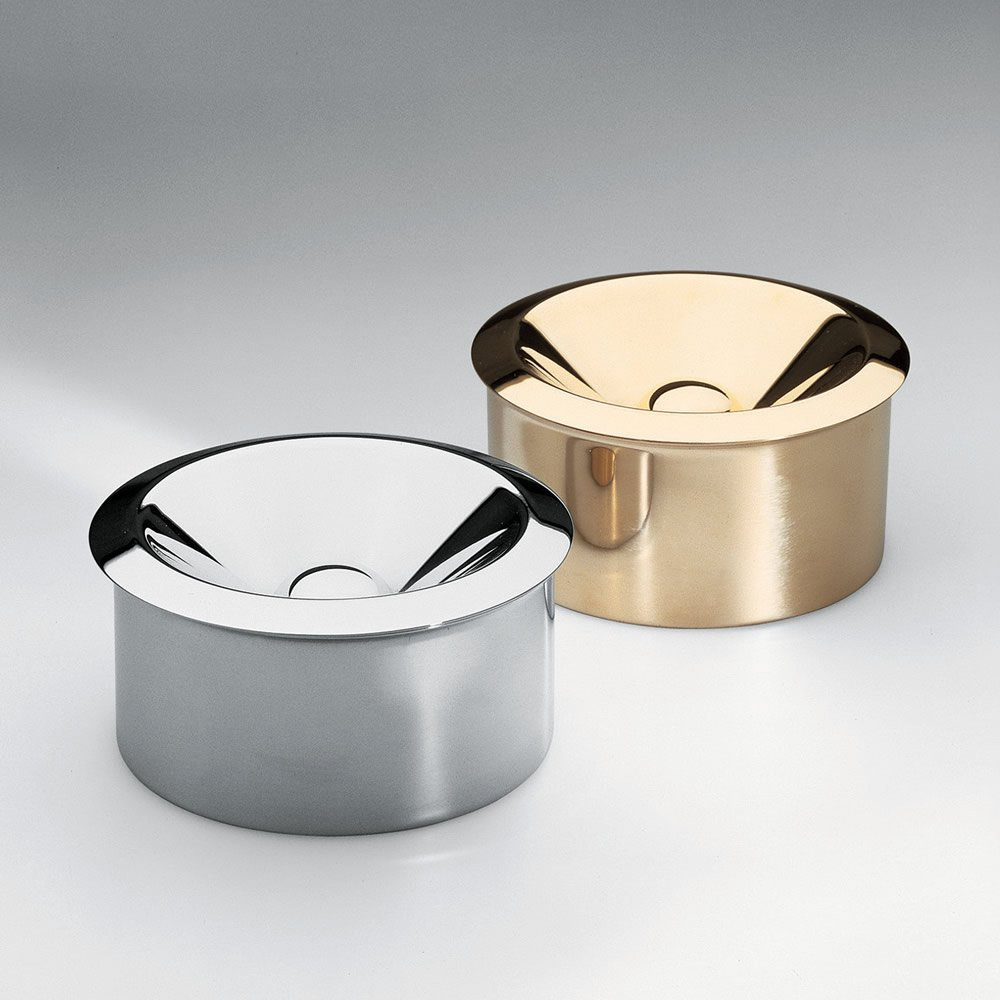 Bauhaus Archive Ash Tray Finish: Stainless Steel by Alessi