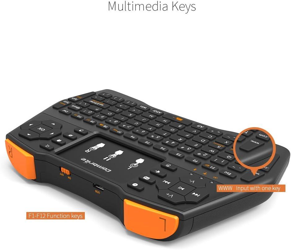 2.4 GHz RF Mini teclado inal/ámbrico y rat/ón touchpad Combo Multimedia Port/átil de mano Android keyboard Combrite I8 para PC Google Android Smart TV Box Media Mini TV PC