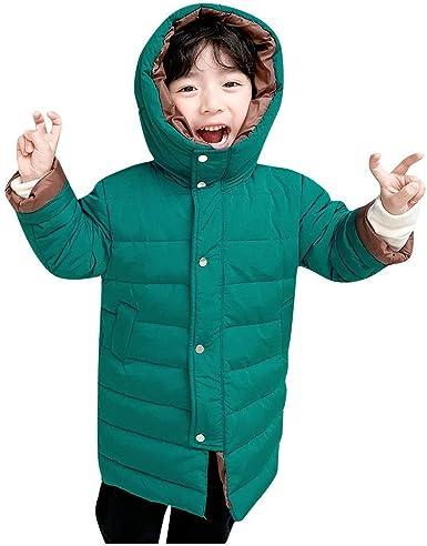 PinkLu Algodón Abrigo para Niños Niñas 2-9 años Invierno ...