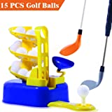 heytech Golf Toys Set Golf Ball Training Machine Sports Gaming Learning, Active, Early Educational, Outdoors Exercise Toy.