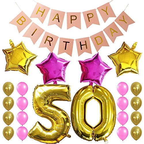 50 years old party supplies - 7