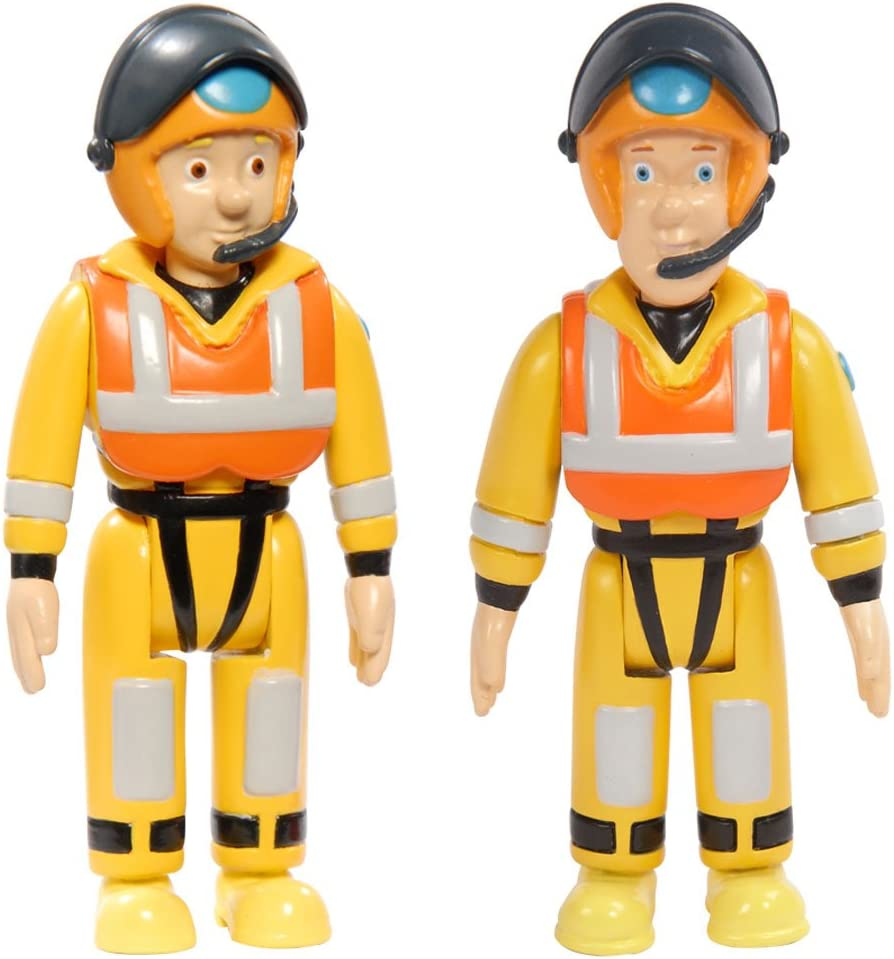 Fireman Sam! Fireman Sam 5 Pack Action Figure Character Set Ages 3