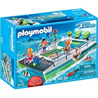 PLAYMOBIL® Glass-Bottom Boat with Underwater Motor...