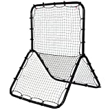 allgoodsdelight365 Baseball Softball Rebounder Throw Pitch Back Net Training Screen Return Trainer