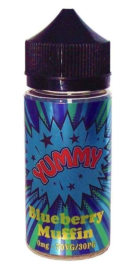 100 ml E-Liquído YUMMY BLUEBERRY MUFFIN para cigarillos ...