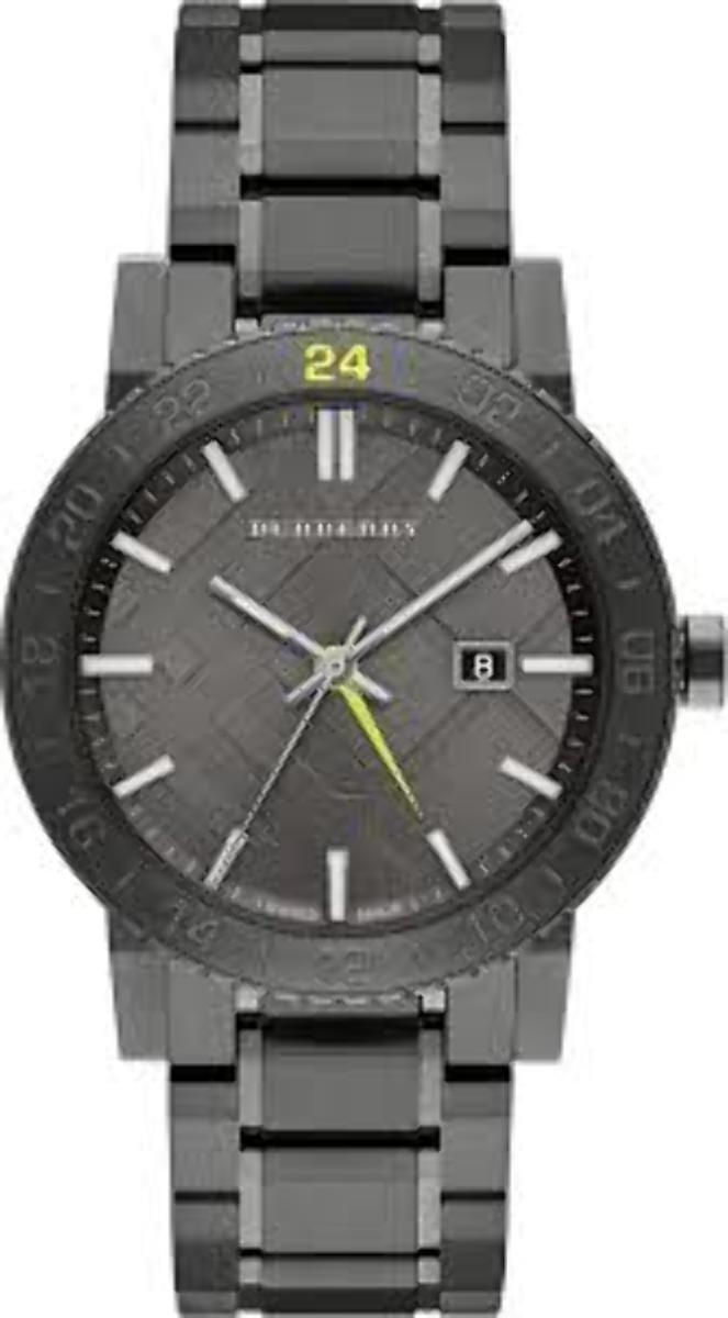 Burberry Black Dial Stainless Steel Quartz Men's Watch BU9340