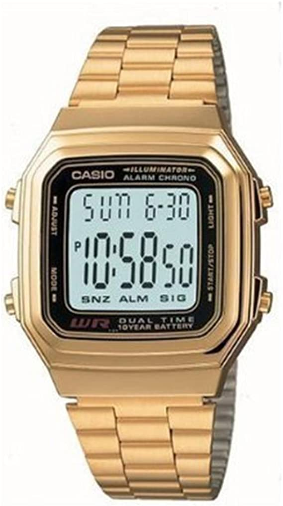 Casio Reloj metálico A178WG