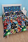 DC Comics Justice League Invincible Double Duvet Cover Set