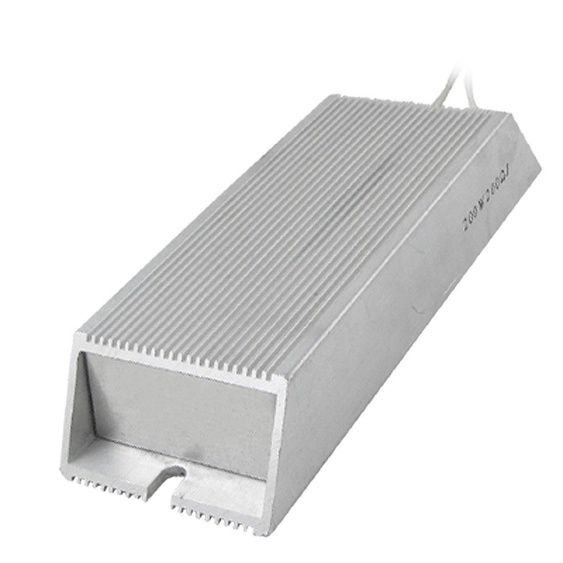 sourcingmap Bo/îtier en Aluminium Fil enroul/é R/ésistance de freinage 200W 100 ohms