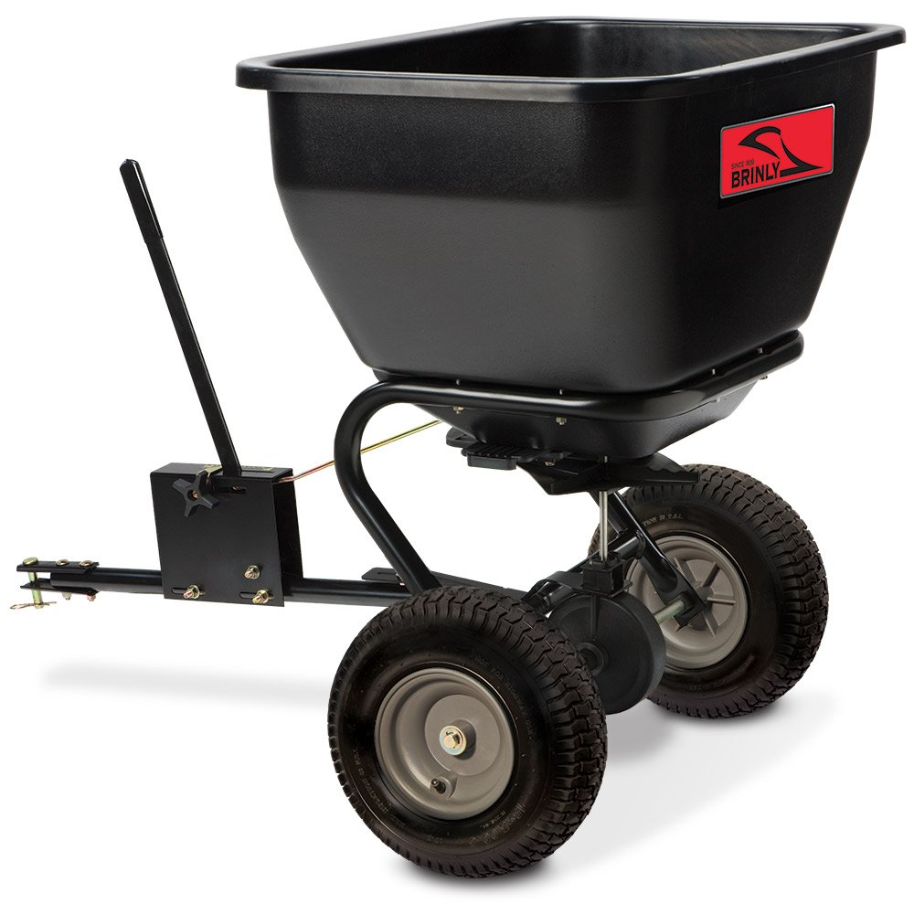 Brinly BS36BH Tow Behind Broadcast Spreader, 175-Pound Brinly Hardy