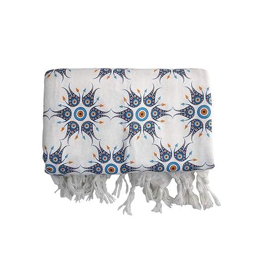 EBSEM® - Toalla de algodón Turco para bañera, Playa, SPA ...