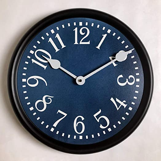 Colonial Blue Wall Clock
