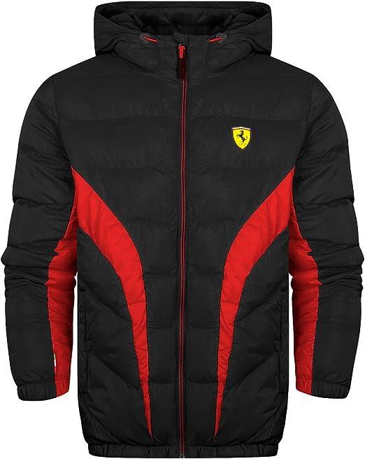 Puma Ferrari Sf Scuderia Ferrari Jacke Padded Jacket Schwarz Xs Bekleidung