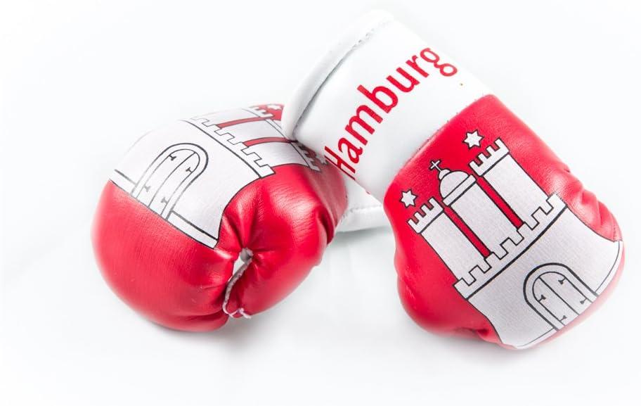 Sportfanshop24 Mini Boxhandschuhe Hamburg 1 Paar 2 Stück Miniboxhandschuhe Z B Für Auto Innenspiegel Auto