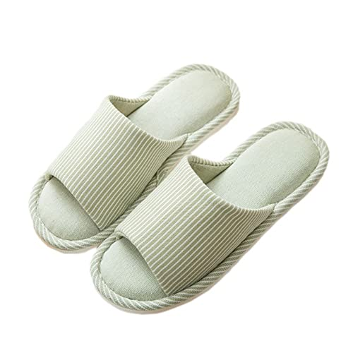 Zapatillas de Estar por casa Mujeres Antideslizante Memoria Espuma Slippers Pantuflas Algodón para el Verano de