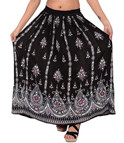 2 Noir Whitewhale Noir Femme Jupe Taille Noir Unique w1qBR4670