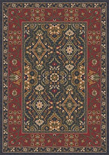 Milliken 4000032415 Pastiche Collection Sandakan Octagon Area Rug, 7'7