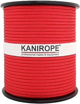 tress/ée 2564 Kanirope/® Corde Cordage PP Polypropyl/ène MULTIBRAID 10mm 100m Vert Sapin
