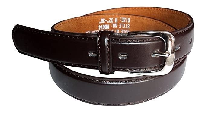 Braun oder Beige Gr/ö/ße 4XS - klein in Schwarz Ossi Leder gef/üttert 28mm Kinder G/ürtel