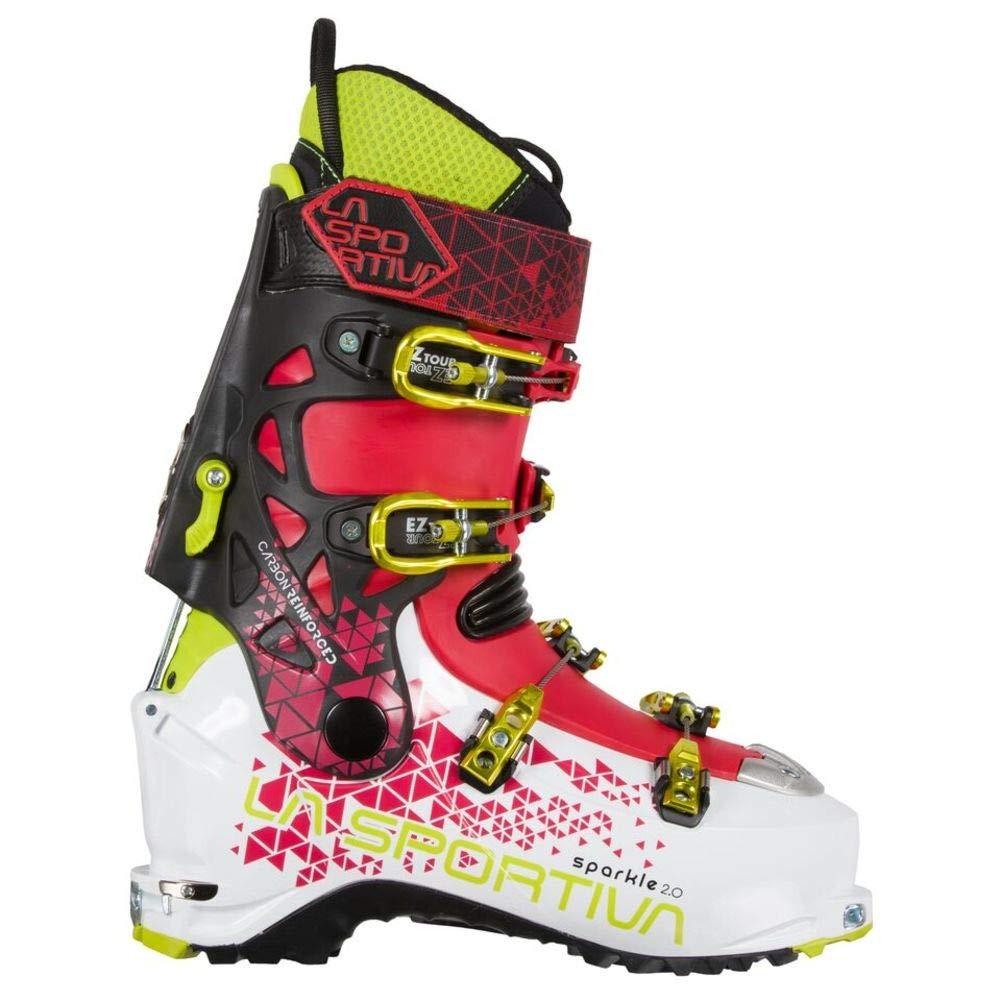 La Sportiva Unisex-Erwachsene Sparkle 2.0 Weiß/Garnet Trekking-& Wanderstiefel