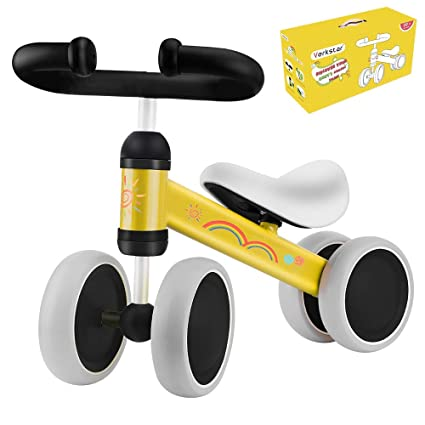 53647e48c2d Verkstar Baby Balance Bike Infant Mini Bicycle Toddler Bike, No Foot Pedal  10-24